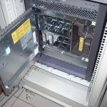 Front of a Sun Microsystems Enterprise 3500 Server